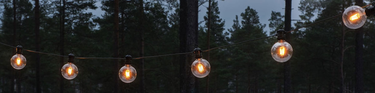 Lounge Lampor Ljusslinga