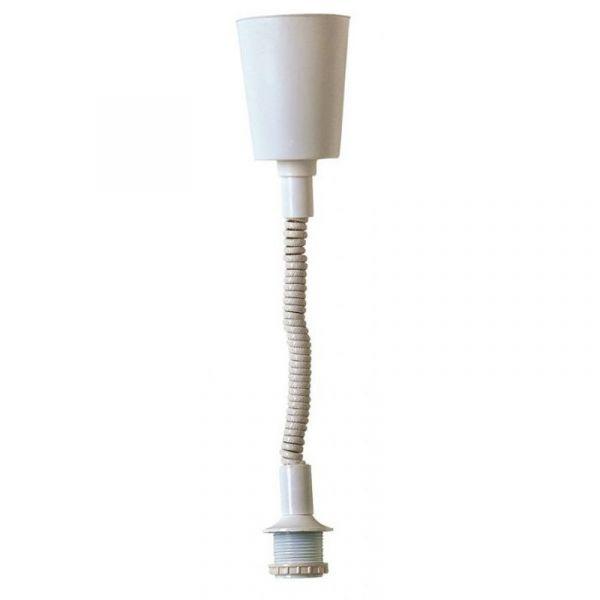 Hissiripustusjohto Valkoinen 150cm