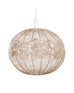 Missy Natur/Vit Taklampa från Globen Lighting