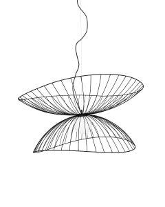 Ray Svart 115cm Taklampa från Globen Lighting