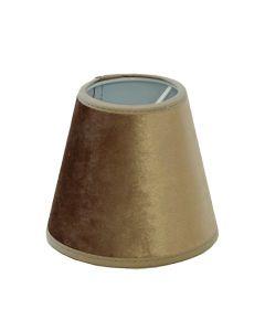 Roma Lampskärm 11cm Nougat från Hallbergs Lampskärmar