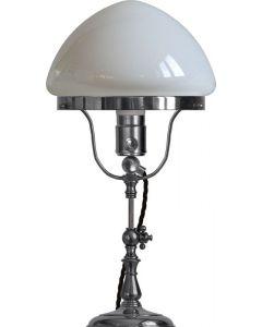 Fogelklou Nickel Bordslampa från Karlskrona Lampfabrik