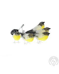 Fåglar Akryl Klara 5st 40 Varmvita LED IP44 från Konstsmide