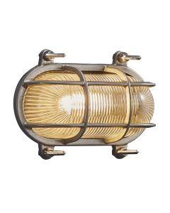 Helford Nickel IP64 Vägglampa från Nordlux