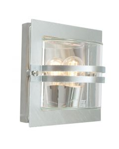 Bern Galv/Klar Ip54 Vägglampa från Norlys