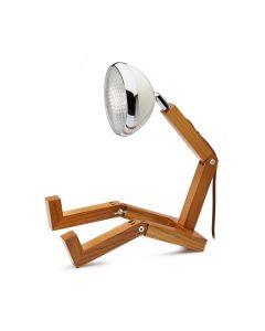 Mr Wattson Vintage White Bordslampa från Övrigt Leverantör