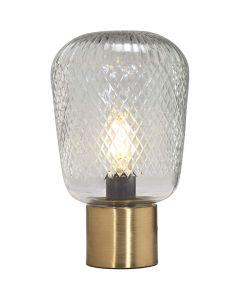 Juliette Mässing/Klar 21cm Bordslampa från Pr Home