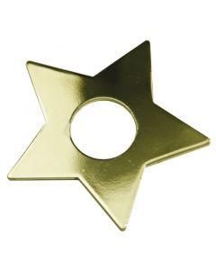 Manschett Stjärna 7-Pack Guld från Star Trading