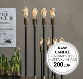 Raw Candle - PR Home