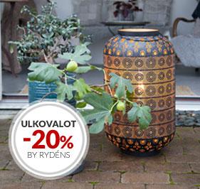 Tarjous Ulkovalot By Rydéns -20%
