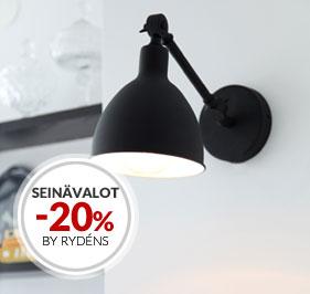 Tarjous Seinävalaisimet -20% By Rydéns