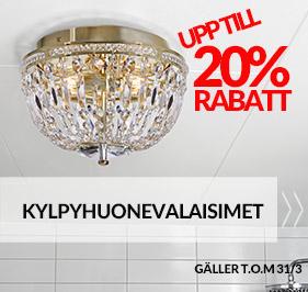 Kylpyhuonevalaisimet | Lampan.fi